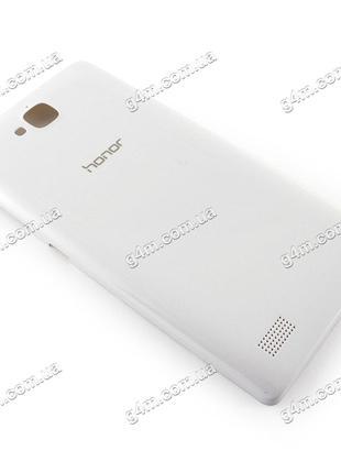 Задняя крышка для Huawei Honor 3C H30-U10 белая