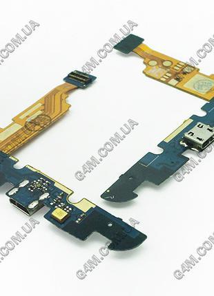 Шлейф LG E960 Google Nexus 4 с коннектором зарядки и компонентами