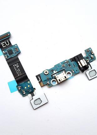 Шлейф Samsung G928F Galaxy S6 EDGE Plus с коннектором зарядки ...