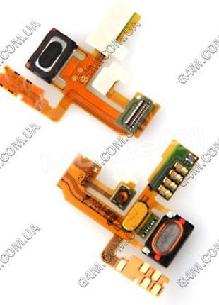 Шлейф Sony Ericsson U5i Vivaz для кнопки включения с динамиком...