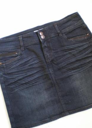 Юбка джинс.