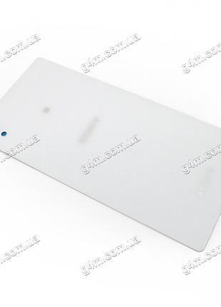 Задняя крышка для Sony E2312 Xperia M4 Aqua Dual белая, пласти...