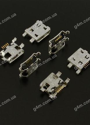 Коннектор зарядки Huawei, HTC, Alcatel
