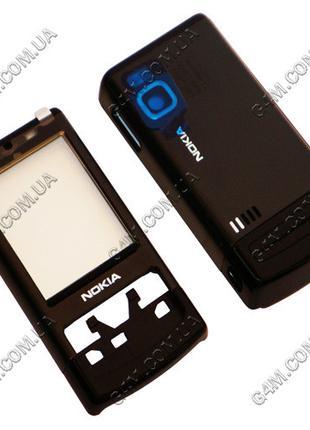 Корпус Nokia 6500 slide черный (High Copy)