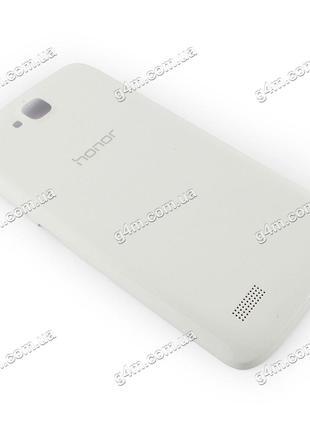 Задняя крышка для Huawei Honor 3C Lite белая