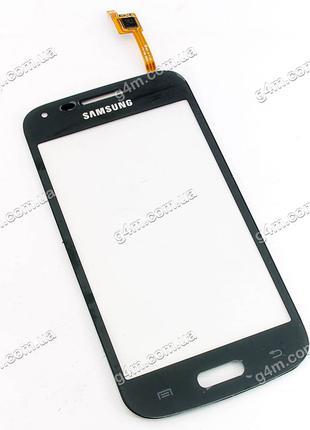 Тачскрин для Samsung G350 Galaxy Star Advance Duos, темно-серы...