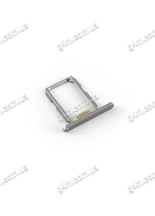 Держатель Sim карты Samsung G920F Galaxy S6 темно-синий