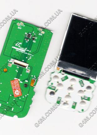 Дисплей Samsung C300 на плате с подложкой