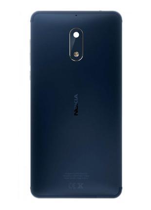 Задняя крышка для Nokia 6 (Blue) Original