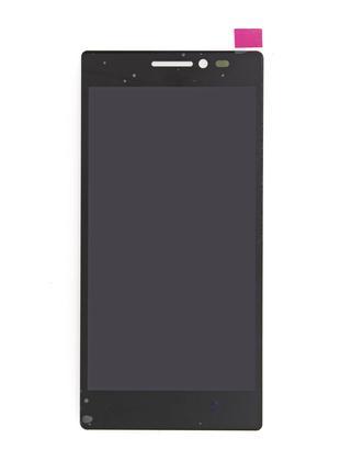Дисплей Lenovo Vibe X2 с тачскрином, черный (Оригинал)