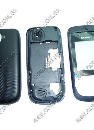 Корпус Nokia 2220 slide черный (High Copy)
