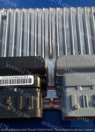 Блок управления двигателем 1,4 АКПП (МТ80) F4 Авео 96930404-GM