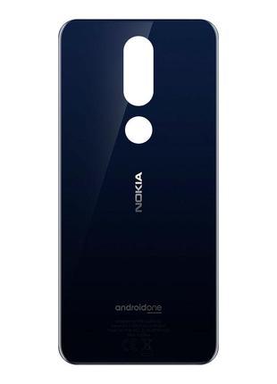 Задняя крышка для Nokia 7.1 (Blue) Original