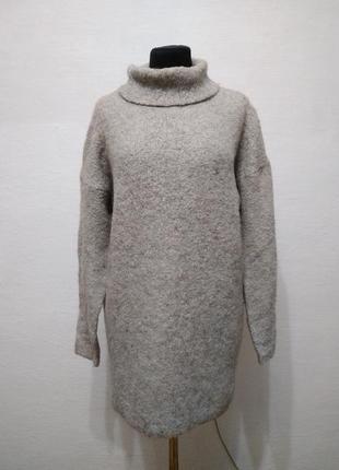 Стильный теплый базовый свитер asos большого размера