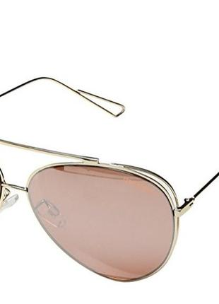 Зеркальные очки авиаторы steve madden
