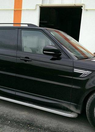 Range Rover Sport 2014↗ гг. Рейлинги Skyport Рендж Ровер Спорт...