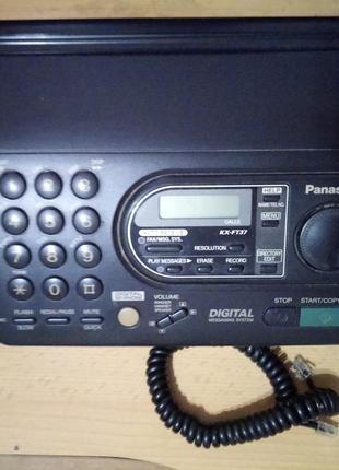 Телефон факс Panasonic KX-FT37