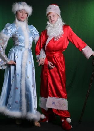 Прокат детских и взрослых эксклюзивных новогодних костюмов.