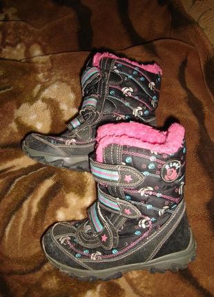 Термо ботинки сапоги