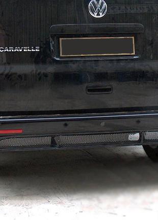 Volkswagen T5 Накладка на задний бампер Фольксваген Т5 Тюнинг ...