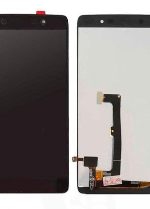 Дисплей для Alcatel 6055K One Touch Idol 4 с сенсором (Black)