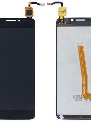 Дисплей для Alcatel 6043D One Touch Idol X+ с сенсором (Black)