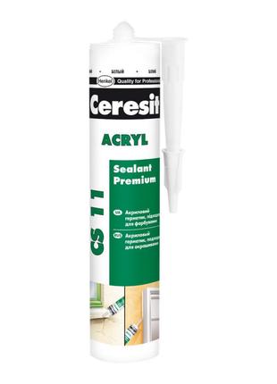 Герметик Ceresit Akryl 280 мл белый