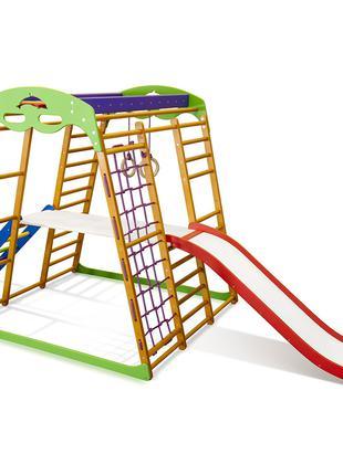Детский спортивный комплекс для квартиры Карамелька Plus 2 Spo...