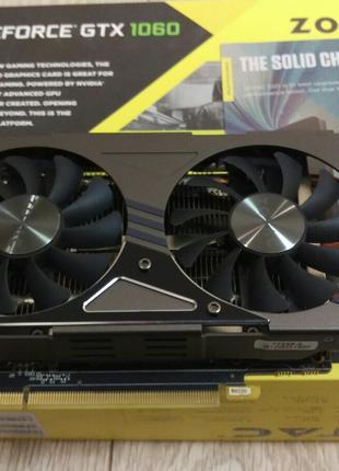 Відеокарта Zotac GeForce GTX 1060 3GB AMP!