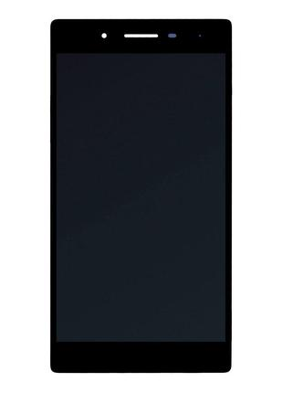 Дисплей для Lenovo Tab 3-730X с сенсором (Black)