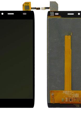 Дисплей для Alcatel 6032X One Touch Idol Alpha Slate с сенсоро...