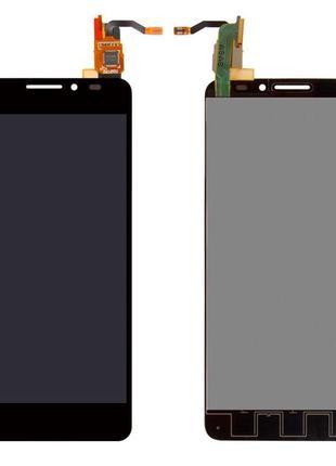 Дисплей для Alcatel 6040D One Touch Idol X с сенсором (Black)