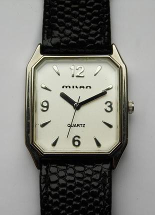 Milan by m.z.berger строгие часы из сша кожаный ремешок мех. j...