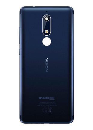 Задняя крышка (панель) для Nokia 5.1 (Blue) Original