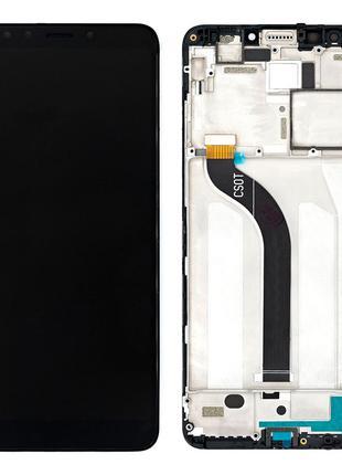 Дисплей для Xiaomi Redmi 5 с сенсором (Black) в рамке