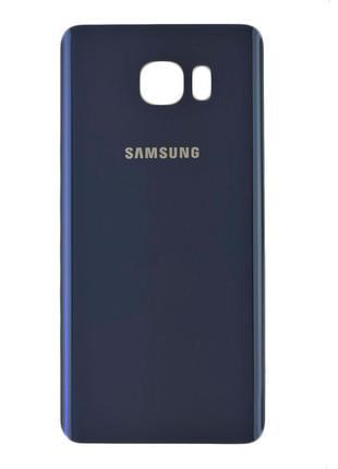 Задняя крышка (панель) для Samsung N920 Galaxy Note 5 (Black s...