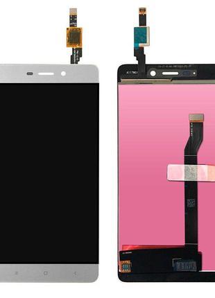 Дисплей для Xiaomi Redmi 4 с сенсором (White)