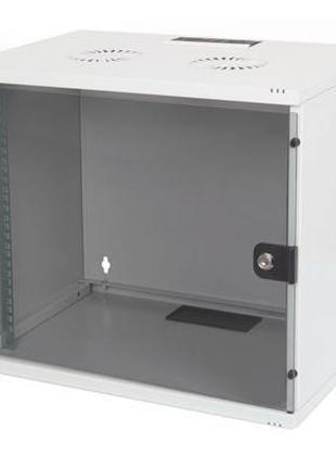 """Шкаф настенный DIGITUS 7U 19"""" 540x400, стекляные двери, 60kg m..."""