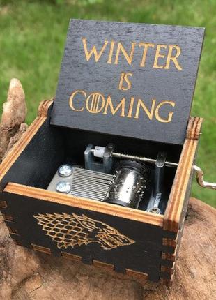 Музыкальная шкатулка Game of Thrones (Игра Престолов)