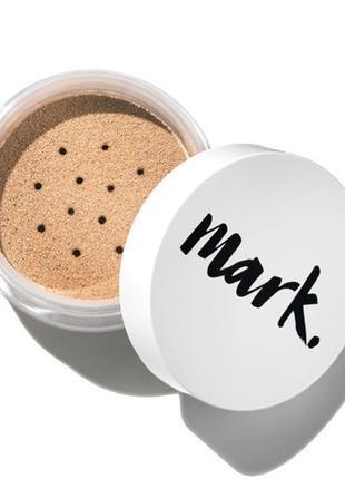 минеральная рассыпчатая пудра для лица, цвет: nud/натуральный