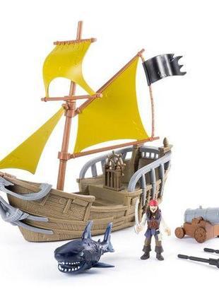 Игрушка Пираты Карибского моря Пиратский корабль игровой набор