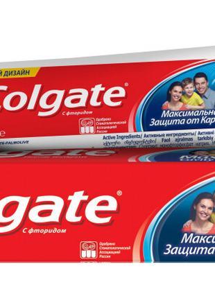 Colgate максимальная защита от кариеса свежая мята зубная паст...