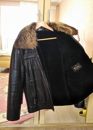 """Куртка """"Пилот"""" натуральная кожа"""