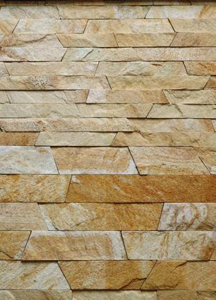 Камень KLVIV сланец Болгарський персик 60 мм 0,5 кв.м