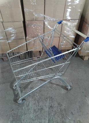 Тележка покупательская б\у Marsanz 80 л (Испания), торговая те...