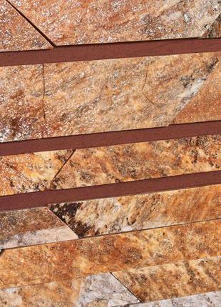 Камень KLVIV сланец KAYRAK GOLD TIGER 60 мм 0,5 кв.м