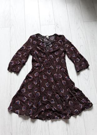 Легкое летнее платье в стиле бохо