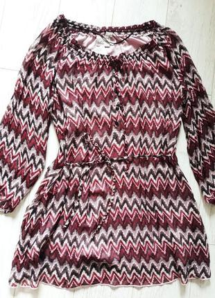 Легкое летнее платье в этно, бохо стиле