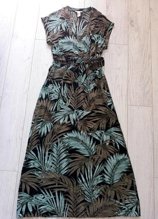 Легкое летнее платье, сарафан впол
