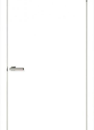 Дверное полотно ОМиС Cortex глухое (гладкое) ПГ 600 мм белый s...